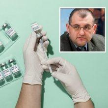 V. Kasiulevičius – apie gandus, susijusius su vakcinomis nuo COVID-19