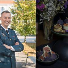 Policijos pareigūno pomėgis – žaliavalgiškų tortų kūryba