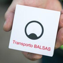 Regėjimo negalią turintys keleiviai jau gali naudotis viešojo transporto programėle