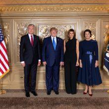 G. Nausėda pakvietė D. Trumpą apsilankyti Lietuvoje