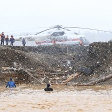 Sugriuvus užtvankai Sibire, suimti trys asmenys