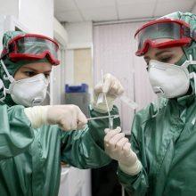 Du nauji koronaviruso atvejai: užsikrėtė kauniečių pora