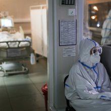 Dėl koronaviruso ligoninėse gydomi 58 pacientai, iš jų reanimacijoje – du
