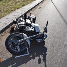Ignalinos rajone per avariją žuvo motociklo vairuotojas