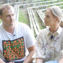 Ką tik ištekėjusi V. Šaulytė-Mockė prabilo apie sveikatos bėdas