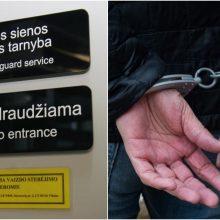 Oro uoste sulaikytas dėl nusikaltimo ieškotas neringiškis