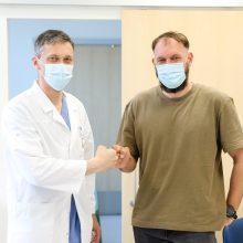 Kauno klinikose – pirmoji tokia operacija Baltijos šalyse