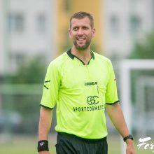 Pasaulio mažojo futbolo čempionate teisėjausiantis G. Macevičius: Lietuva turi šansų
