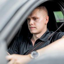 Po dviejų nusižengimų iš eilės D. Rapšys: nežinojau, kad neturiu teisės vairuoti