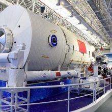 Kinija pademonstravo savo naujos kosminės stoties maketą
