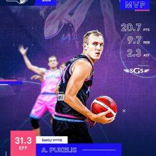 A. Pukelis tapo NKL mėnesio MVP