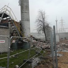 """""""Klaipėdos medienos"""" direktorius: sprogimo įmonėje priežastis vis dar nežinoma"""