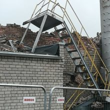Aplinkosaugininkai: manoma, kad gaisro Klaipėdoje metu nebuvo viršytos oro taršos ribos