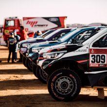 Dakaras: B. Vanagas padidino tempą, bet viską nubraukė 20 min. bauda