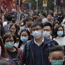 Kinija pritaria pastangoms nustatyti koronaviruso šaltinį