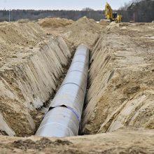 """Ekspertai: """"Nord Stream 2"""" atidėjimas – koziris Ukrainos rankose"""