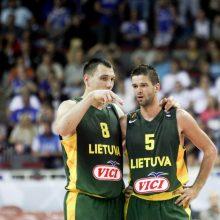 Lietuvos rinktinei – traumų išretintos Belgijos komandos iššūkis