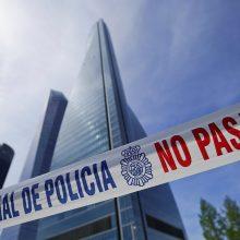 Madrido dangoraižis su ambasadomis evakuotas dėl grasinimo susprogdinti bombą