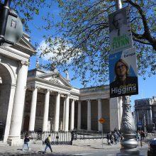 Europos Parlamento rinkimų epicentras keliasi į Airiją