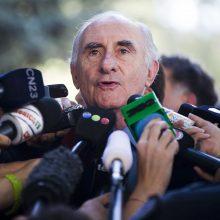 Mirė buvęs Argentinos prezidentas F. de la Rua