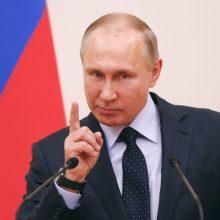 V. Putinas: apsunkinti Rusijos ir Gruzijos santykius sankcijomis – neverta