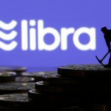 """Vokietijos vyriausybė įspėja """"Facebook"""" dėl skaitmeninės valiutos"""