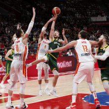 Australijos treneris ispanų sėkmę palygino spalvingu išsireiškimu
