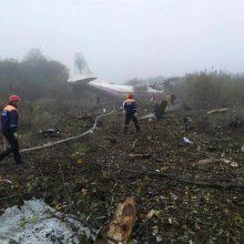 Ukrainoje nukrito lėktuvas: žuvo penki žmonės
