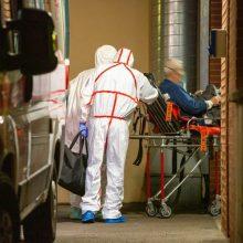 PSO: pasaulyje užsikrėtusiųjų naujuoju koronavirusu per parą padaugėjo 101 tūkst.