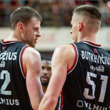 """Vilniaus """"Ryto"""" kapitonas – E. Bendžius, jam talkins A. Butkevičius"""