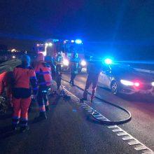 Tragiška avarija prie Klaipėdos: vienas vairuotojas žuvo, kitas bandė pabėgti