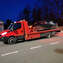 Palangoje pareigūnams įkliuvo girtas BMW vairuotojas