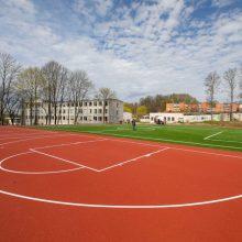Švelninamos sąlygos: sportininkams leista treniruotis atviruose sporto aikštynuose