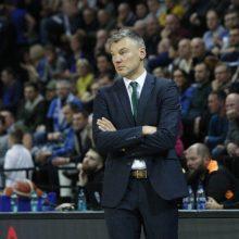 Išvyka patenkintas Š. Jasikevičius pabrėžė jaunųjų krepšininkų įsižaidimą