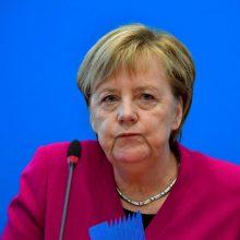 A. Merkel: sankcijos Rusijai galios tol, kol Krymas nebus sugrąžintas Ukrainai