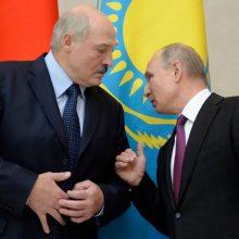 A. Lukašenka: dauguma baltarusių nepritaria susivienijimui su Rusija