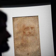 Italijoje pirmą kartą bus eksponuojama Leonardo da Vinci plaukų sruoga