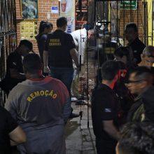 Neramus savaitgalis Brazilijoje: bare nušauta 11 žmonių