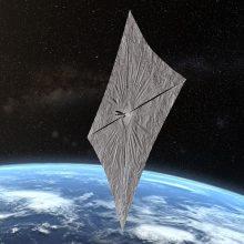 Tyrėjai išbandys kosminį aparatą su saulės bure