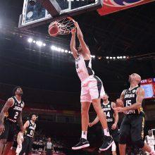 Už borto likę vokiečiai pyktį išliejo ant Jordanijos krepšininkų