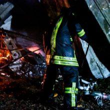 Varėnos rajone kilusiame gaisre žuvo žmogus