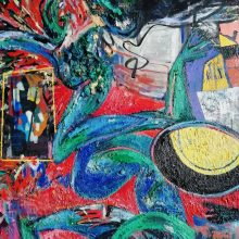 """Naujojoje Klaipėdos galerijoje – M. Pekarsko tapybos ir piešinių paroda """"R."""""""