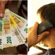 Klaipėdoje policininkais apsimetę sukčiai iš moters išviliojo 4 tūkst. eurų