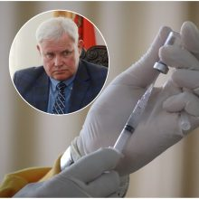 V. Grubliauskas: kiekviena vakcina turi surasti savo petį