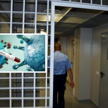 Kalėjimų departamentas: įkalinimo įstaigose dėl COVID-19 darbuotojų netrūksta