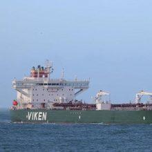 Baltarusijai naftą gabenantis laivas atplaukė į Klaipėdą