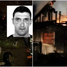 Aiškėja tragiško gaisro aplinkybės: vyras padegė namą ir taip pražudė dvi moteris?