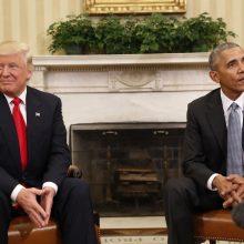 Aštrus B. Obamos pareiškimas: D. Trumpas nėra tinkamas eiti prezidento pareigas