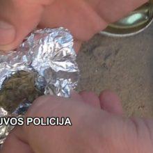 Neringoje įkliuvo narkotikų turėjęs žmogus: slėptuvė – cigarečių pakelyje