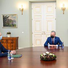 G. Nausėda pozityviai vertina pretendento į susisiekimo ministrus kompetenciją ir patirtį